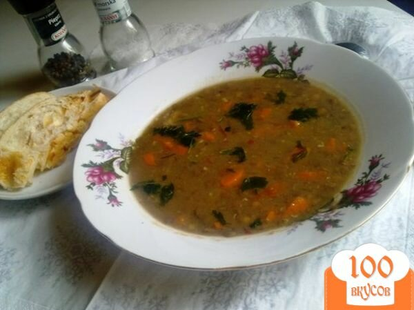Фото рецепта: «Суп из чечевицы по-венгерски»