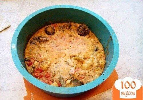 Фото рецепта: «Вегетарианский овощной пирог»