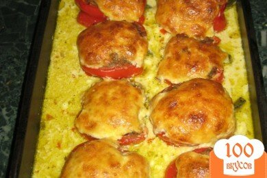 Фото рецепта: «Фаршированные перцы»