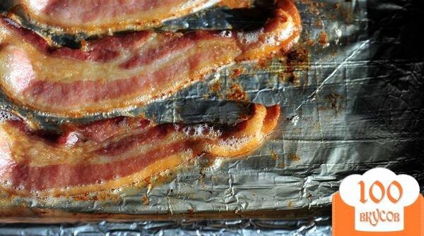 Фото рецепта: «Бекон запеченный в духовке»