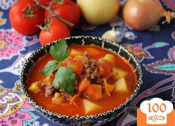 Фото рецепта: «Восточный суп с фаршем»