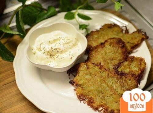 Фото рецепта: «Картофельные блины»
