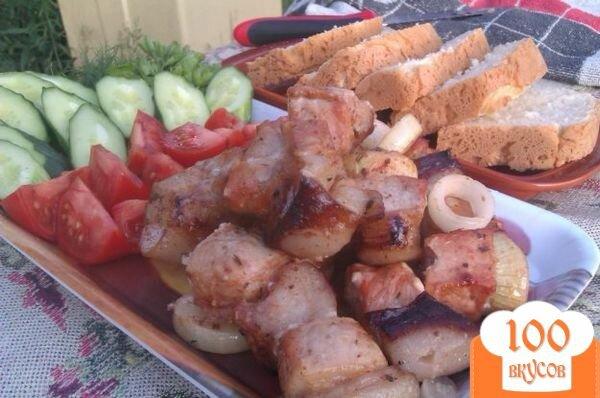 Фото рецепта: «Свиной шашлык с кетчупом»