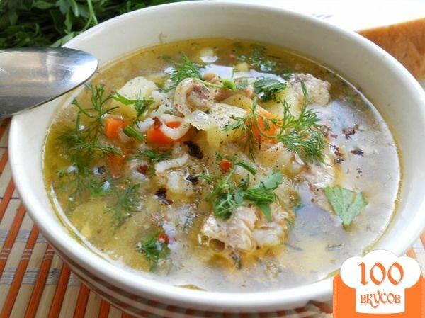 Фото рецепта: «Рыбный суп из консервов»