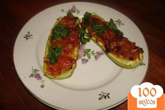 Фото рецепта: «Фаршированные кабачки»