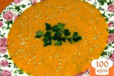 Фото рецепта: «Овощной суп из тыквы»