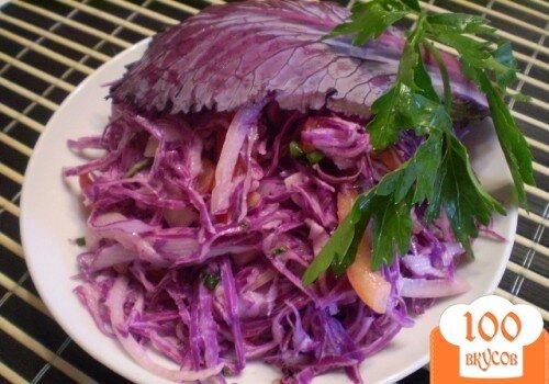 Фото рецепта: «Салат из капусты»
