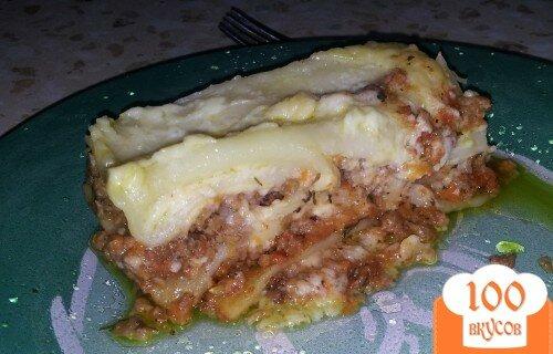 Фото рецепта: «Аппетитная лазанья»