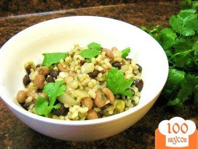 Фото рецепта: «Фасоль с рисом»