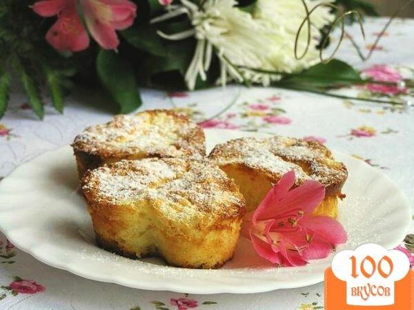 Фото рецепта: «Рисовые мини-пудинги с цедрой лимона и лайма»