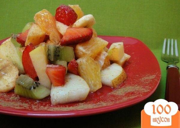 Фото рецепта: «Сладкий салат из фруктов»
