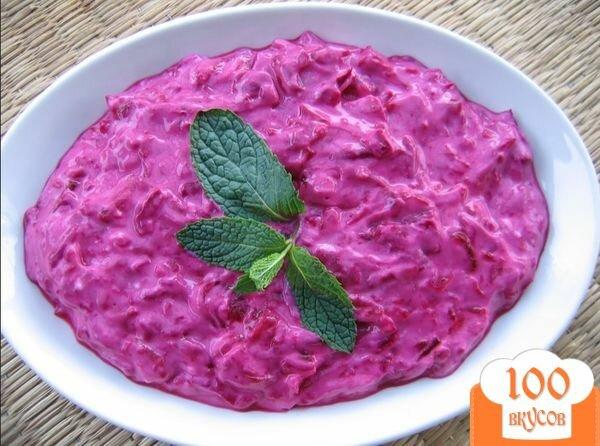 Фото рецепта: «Легкий салат со свеклой»
