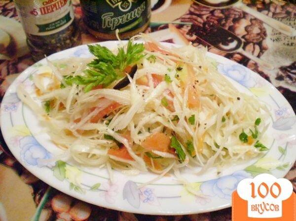 Фото рецепта: «Легкий овощной салат»