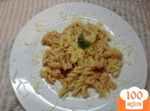 Фото рецепта: «Макароны с овощным соусом»