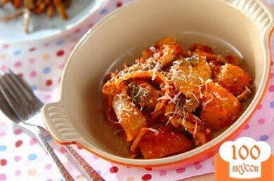 Фото рецепта: «Треска с помидорами»