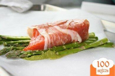 Фото рецепта: «Запеченный лосось»