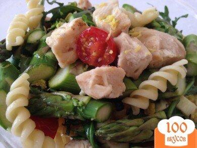 Фото рецепта: «Весенняя паста с курицей»
