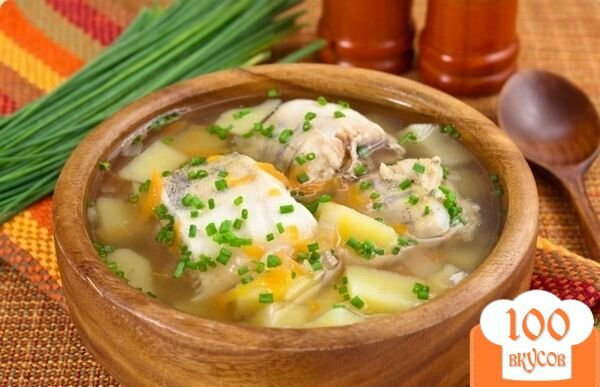 Фото рецепта: «Суп из минтая»