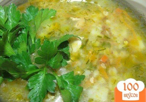 Фото рецепта: «Гречневый суп с кроликом»