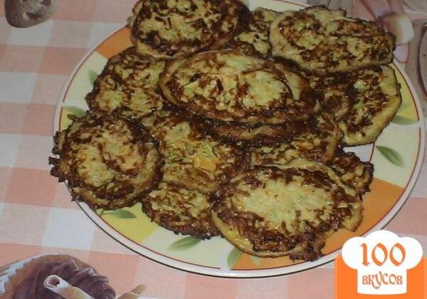 Фото рецепта: «Кабачково-морковные оладьи»