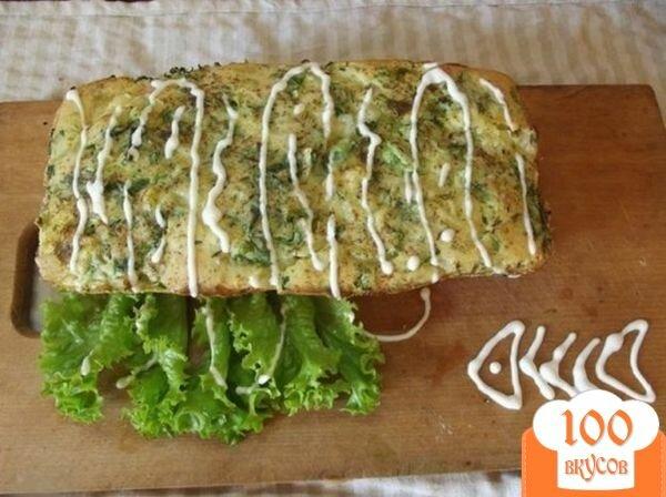 Фото рецепта: «Слоеный пирог с рыбой»
