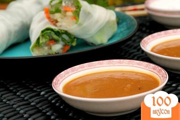 Фото рецепта: «Арахисовый соус»