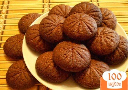 Фото рецепта: «Шоколадное печенье»