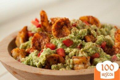 Фото рецепта: «Гуакамоле с креветками»