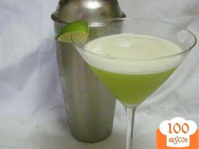 Фото рецепта: «Лаймовый мартини»
