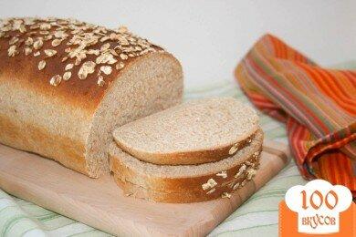 Фото рецепта: «Овсяной хлеб с медом»