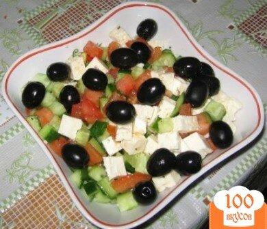 Фото рецепта: «Салат из латука и тунца»