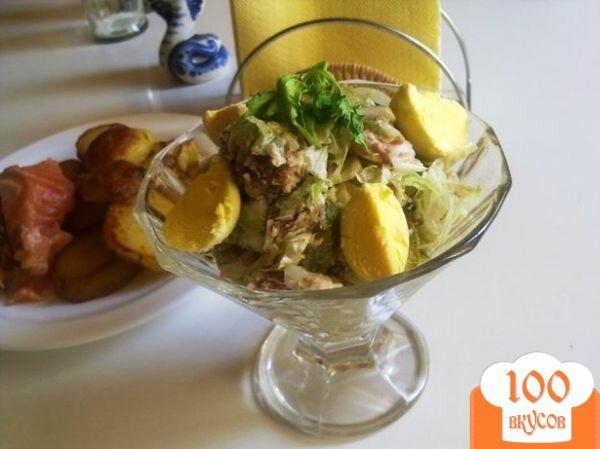 Фото рецепта: «Салат с сардинами»