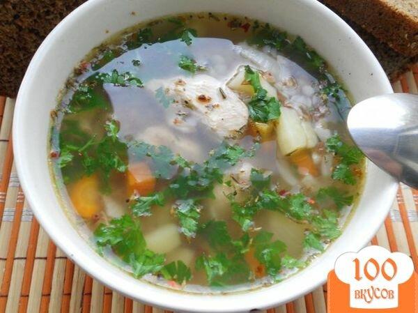 Куриный суп пошаговый рецепт с с картошкой и