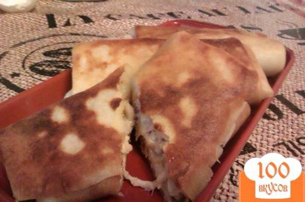 Блинчики с курицей рецепт с фото пошагово