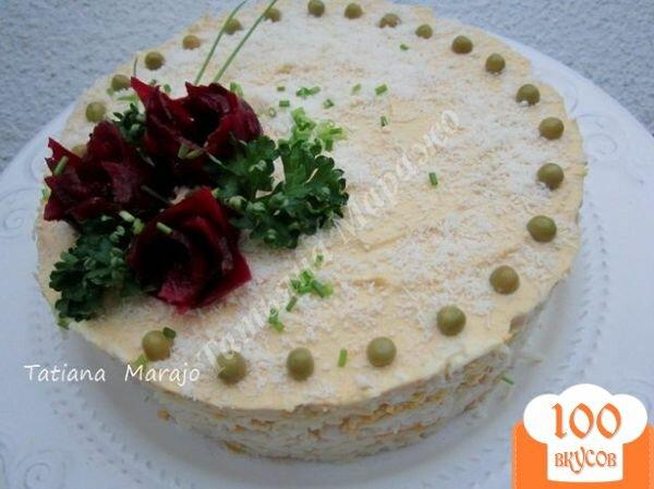Салат с крабом, пошаговый рецепт с фото