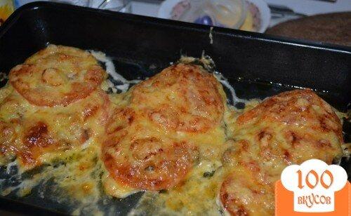Куриное филе в духовке с сыром и грибами в духовке рецепт с пошагово
