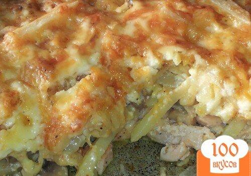 Картошка с филе рецепт