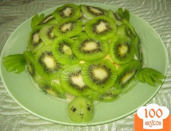 торт изумрудная черепаха пошаговый рецепт с фото