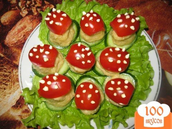 Салат мухомор рецепты с