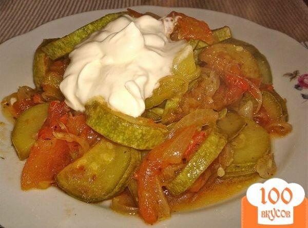Кабачки и баклажаны тушеные с овощами рецепт пошагово