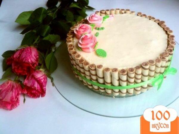 Красивый и легкий торт