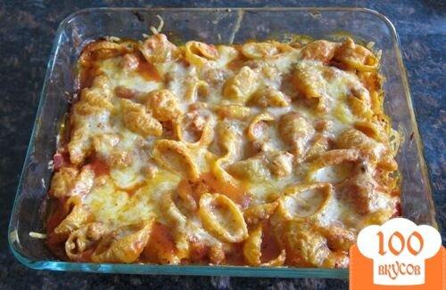 Как приготовить большие макароны с фаршем в духовке пошагово с