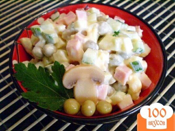 как приготовить салат пошаговый фото рецепт