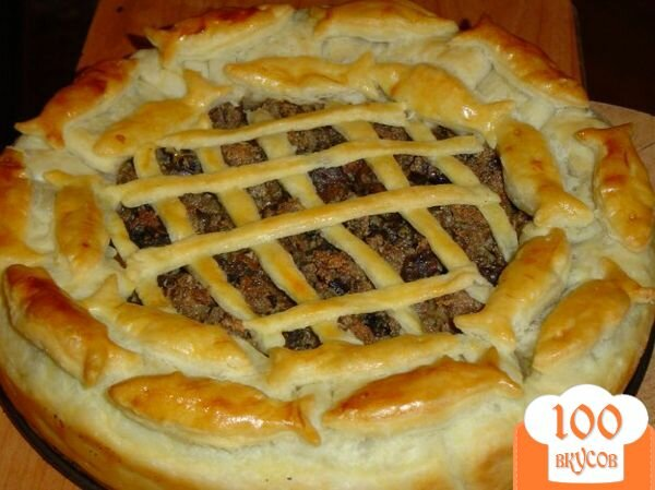 Пирог в духовке пошаговый рецепт