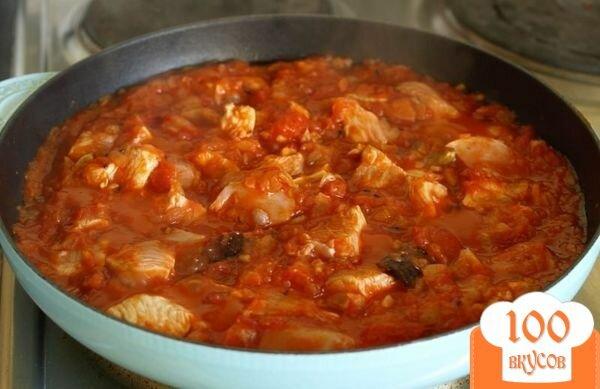 Тушеное куриное филе в томатном соусе рецепты