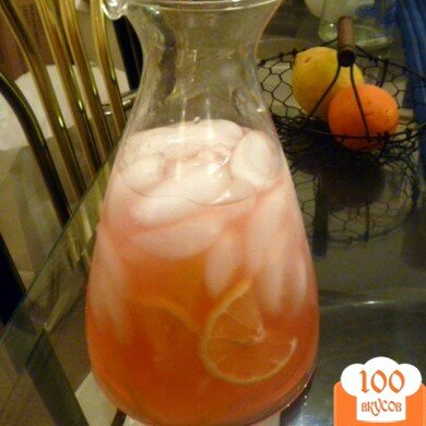 Лимонад Арбуз, пошаговый рецепт с фото