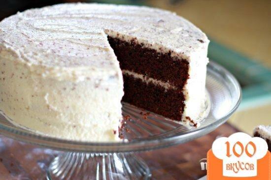 Шоколадный торт глазурью рецепт с фото