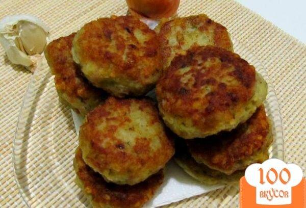 Картофельные котлеты рецепт с фаршем с фото