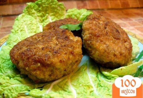 Котлеты из мяса и грибов рецепты