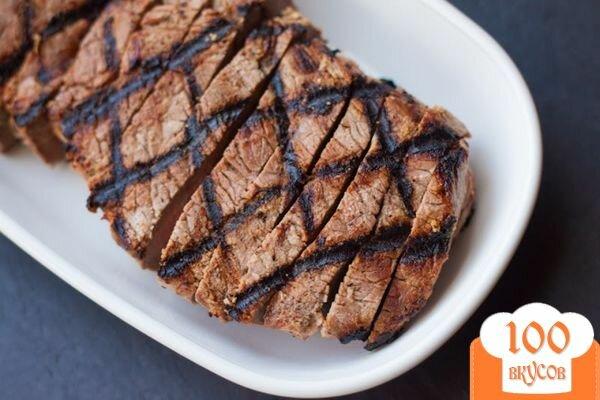 стейк из говядины на электрогриле рецепт с фото пошагово